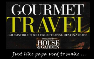 Gourmet Travel - House & Garden