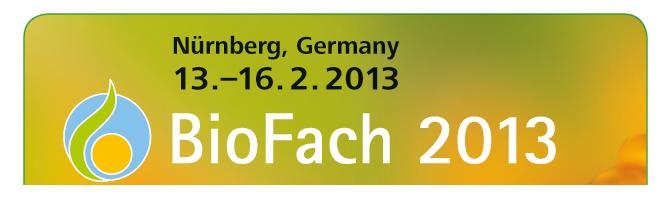 BIOFACH 2013